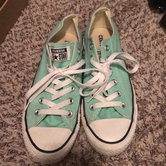 e1bcaf9d7c53 Converse Shoes - PRICE FIRM Mint converse. Size 6 men 8 women.